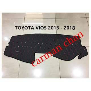 TOYOTA NEW VIOS 2013-2018 DAD NON SLIP DASHBOARD COVER WITH DIAMOND