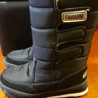 雪靴 42號,25 寬腳可穿