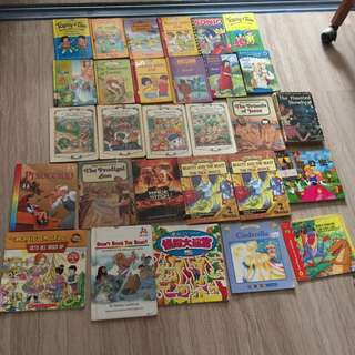 Children story books $20 in bundle of 29 books