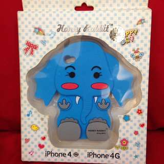 Free mobile case elephant - iPhone 4