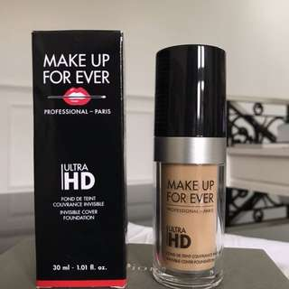 MAKE UP FOREVER ULTRA HD FOUNDATION  FLUID FOUNDATION