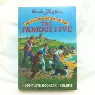 Enid Blyton - The Exciting Adventures of The Famous Five