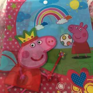 Peppa pig goodies bag