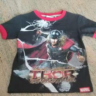 MARVEL - Thor Tee for boys 4yo