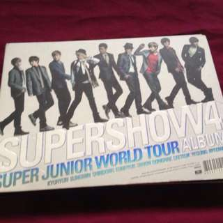 Super Junior Super Show 4 World Tour Album