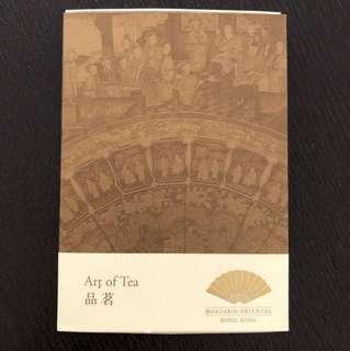 """""""Yin Yang"""" tea from Mandarin Oriental HK hotel"""
