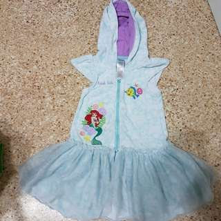 Disney Ariel Terry cloth dress