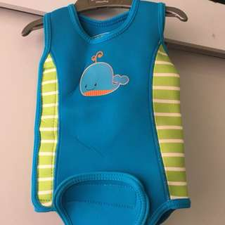 Mothercare Baby Wetsuit - keep your baby warm in the swimming pool
