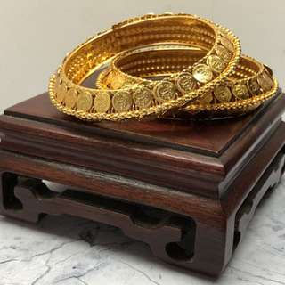 印度 鍍金 手環 手鐲 手鈪 ethnic India Jewellery bangles