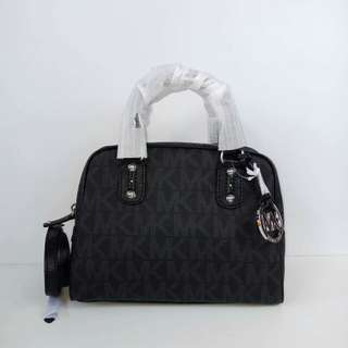 Michael Kors Signature Small Satchel Black