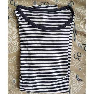 Muji Striped T-shirt