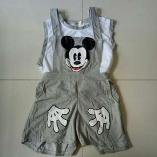 BN Mickey Mouse Romper (Adult)