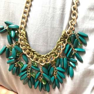 BNWT necklace in turquoise