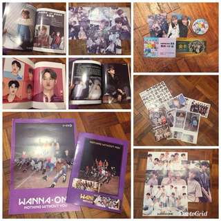 Wanna One Nothing Without You Set