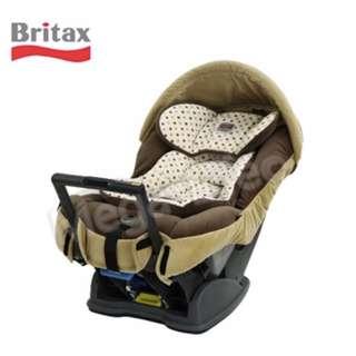 Britax Royale 0-4歲安全汽座(咖啡圓點) 全新一年保固