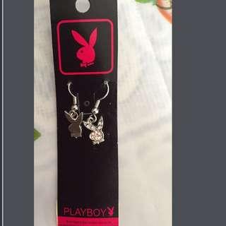 Playboy閃石耳環