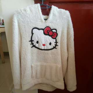 Hello Kitty Sweater with Hoodie