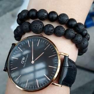 Custom made crystal bracelet