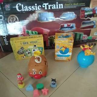 Set of toys (4 item)