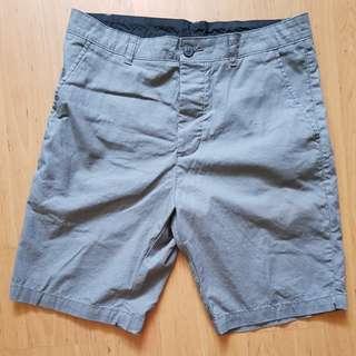 BNWT H & M Dark Grey Burmudas for men