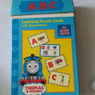 Thomas and friends ABC flash cards