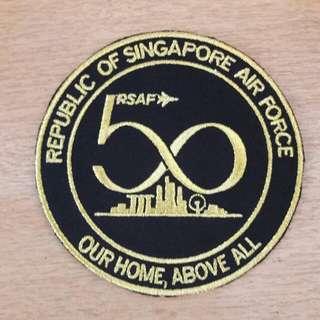 RSAF 50th Anniversary Patch