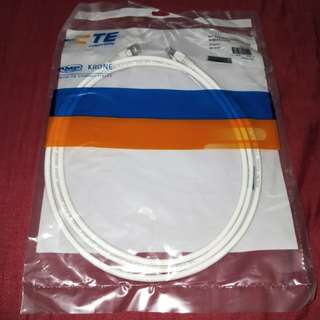 1PC: 2m Cat 6A/7 Internet Cable