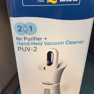 German pool空氣清新機+吸塵器(air purifier+vacuum cleaner)