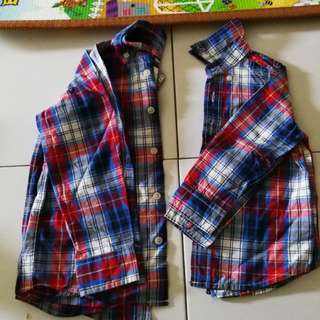 OshKosh 6T and 3T buttoned shirt