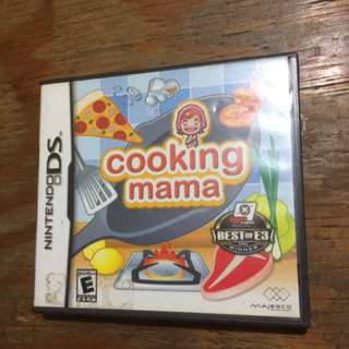 DS Game Cooking Mama US