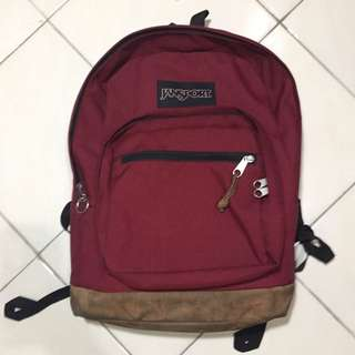 Tas Jansport TYP7 Maroon Original