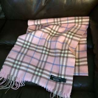 Burberry scarf 32x170cm 95%new no packing