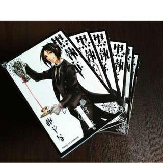 "Chinese Comics Manga ""黑执事"" (1-7 incomplete set)"