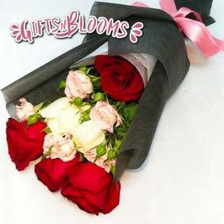 Valentine's Bouquet Vday Flower Gift Special V226 - GJVHM