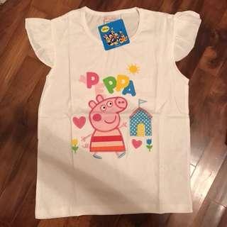 Peppa pig white T-shirt
