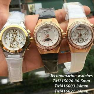 Original Technomarine Watch Php11000.00 each
