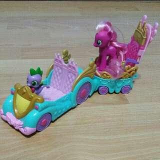 My Little Pony Car Set