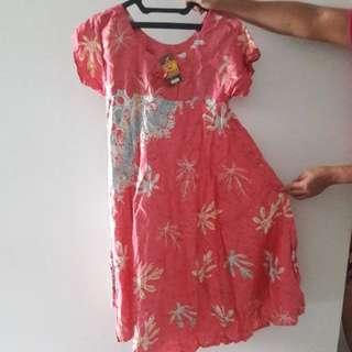 NEW Daster Batik Pink Yogyakarta XL Big Size