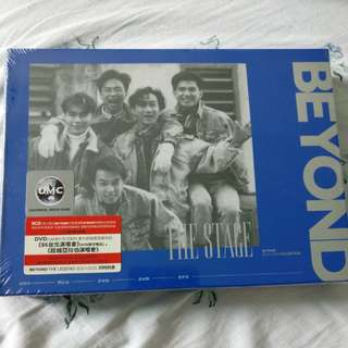 Cantopop CDs - Beyond The Stage 3CD+DVD set, brand new