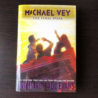 Michael Vey 7 - The Final Spark (hardcover)