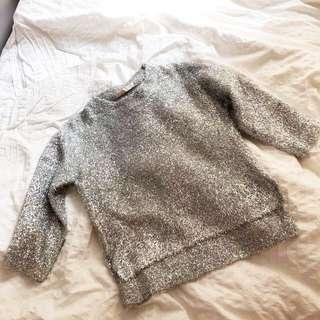 Silver knitwear 韓制銀色上衣