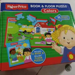 Fisher price puzzle with n