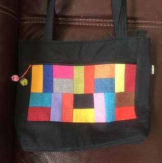 韓國布藝袋