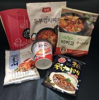 代放 日韓食品
