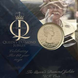 Queen Elizabeth II Diamond Jubilee commemorative coin