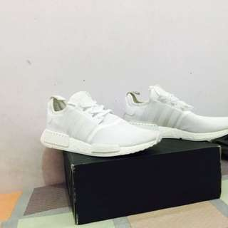 Adidas NMD R1 White reflective Original