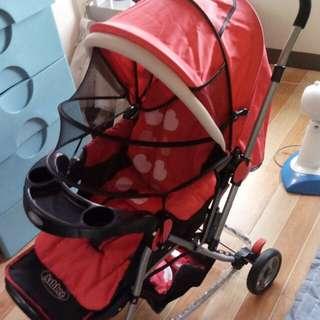 Baby stroller heavy duty