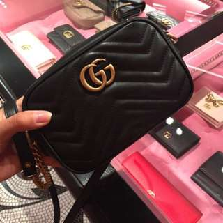 Gucci marmont misura mini bag 20 cm crossbody
