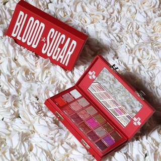 [CLOSED TILL MARCH] JEFFREE STAR BLOOD SUGAR EYESHADOW PALETTE