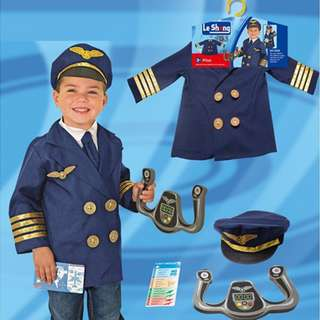 Kids Role Play Costume - Pilot